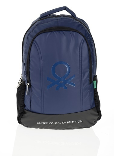 012 Benetton Okul Çantası Lacivert
